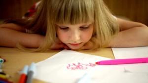 il bambino e il disegno