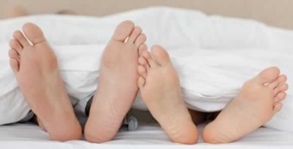 feet bed - Sesso e intimità