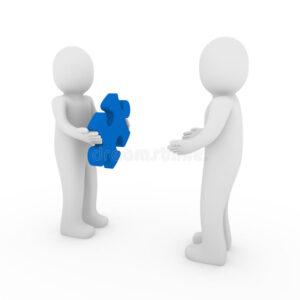 lavoro di squadra dell azzurro di puzzle degli uomini 3d 18658043 300x300 - PSICOTERAPIA DI COPPIA