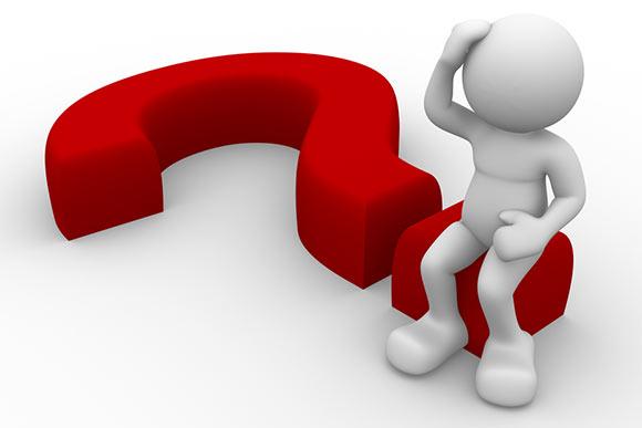 omino punto di domanda orizzontale - FAQ